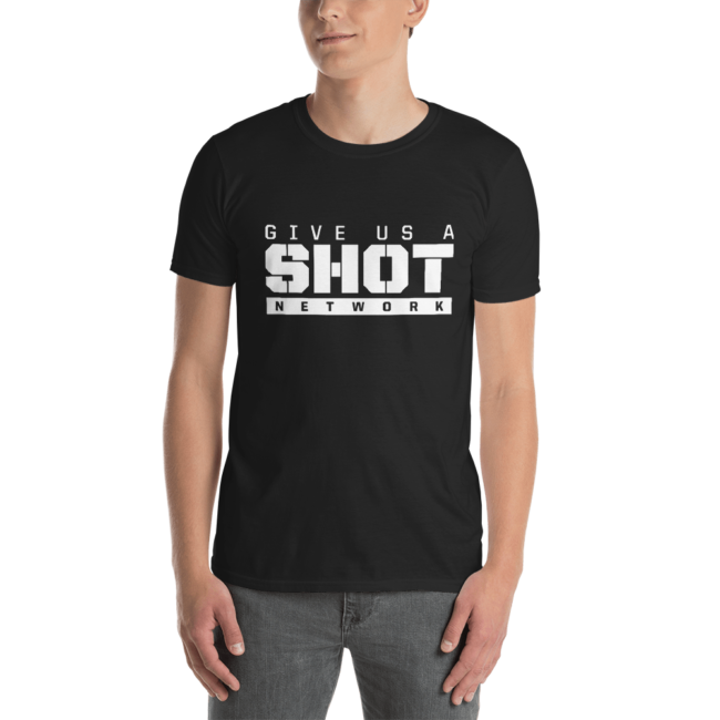Give Us A Shot Network Logo T-Shirt