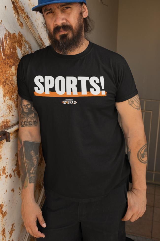 SPORTS! T-Shirt - Stuff About Sports Podcast