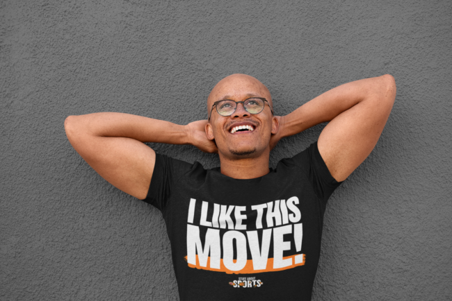 I LIKE THIS MOVE! T-Shirt - Stuff About Sports Podcast